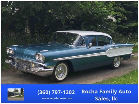 1958 Pontiac Chieftain for sale in Sequim, WA