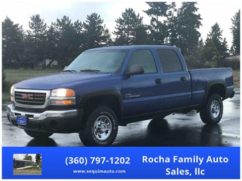 2004 GMC Sierra 2500HD for sale in Sequim, WA