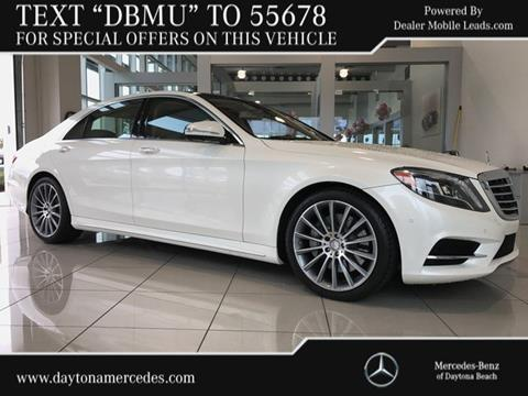 2015 Mercedes-Benz S-Class for sale in Daytona Beach FL