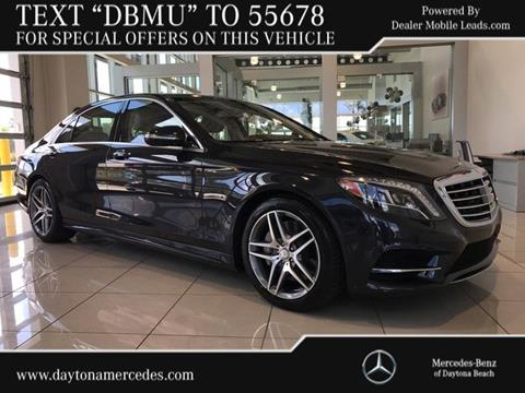 2014 Mercedes-Benz S-Class for sale in Daytona Beach, FL