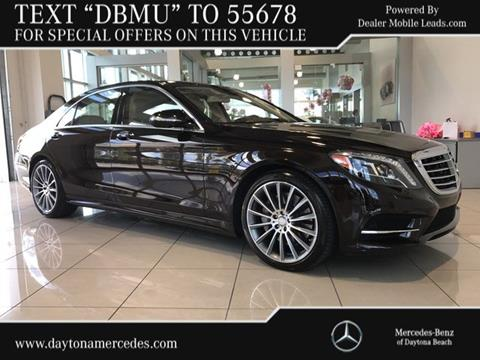 2015 Mercedes-Benz S-Class for sale in Daytona Beach, FL