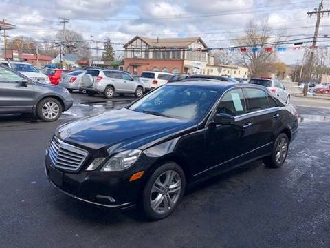 2010 Mercedes-Benz E-Class for sale at Dijie Auto Sale and Service Co. in Johnston RI