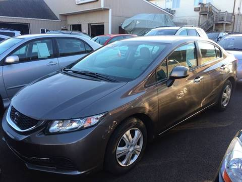 2013 Honda Civic for sale at Dijie Auto Sale and Service Co. in Johnston RI