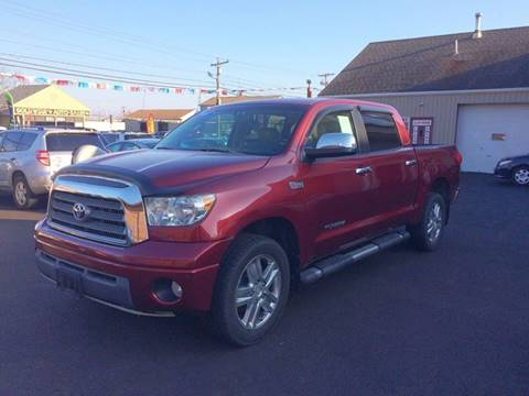 2007 Toyota Tundra for sale at Dijie Auto Sale and Service Co. in Johnston RI