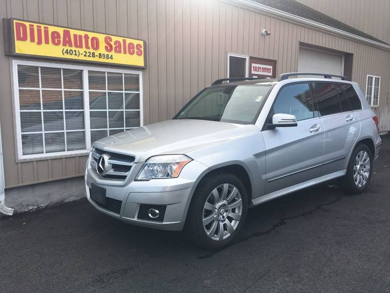 2012 Mercedes-Benz GLK for sale at Dijie Auto Sale and Service Co. in Johnston RI