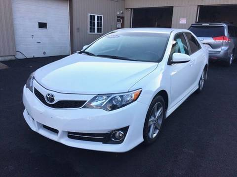 2014 Toyota Camry for sale at Dijie Auto Sale and Service Co. in Johnston RI