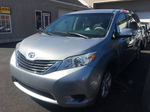 2011 Toyota Sienna for sale at Dijie Auto Sale and Service Co. in Johnston RI