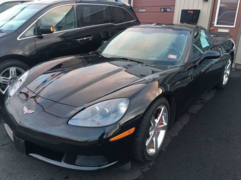 2008 Chevrolet Corvette for sale at Dijie Auto Sale and Service Co. in Johnston RI