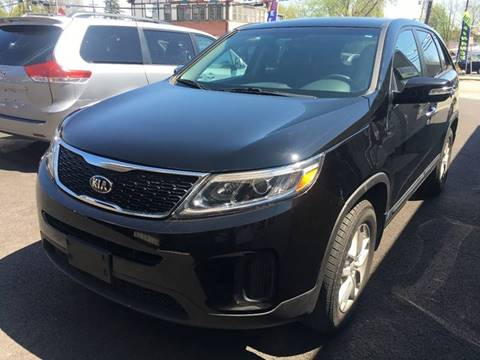 2014 Kia Sorento for sale at Dijie Auto Sale and Service Co. in Johnston RI