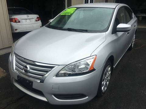 2013 Nissan Sentra for sale at Dijie Auto Sale and Service Co. in Johnston RI