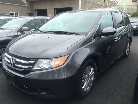 2015 Honda Odyssey for sale at Dijie Auto Sale and Service Co. in Johnston RI