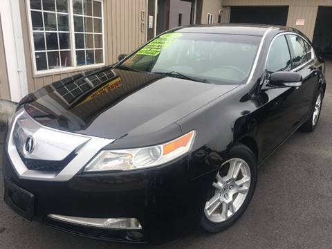 2010 Acura TL for sale at Dijie Auto Sale and Service Co. in Johnston RI