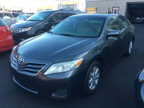 2011 Toyota Camry for sale at Dijie Auto Sale and Service Co. in Johnston RI