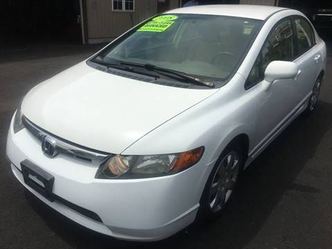 2008 Honda Civic for sale at Dijie Auto Sale and Service Co. in Johnston RI