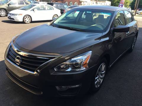2013 Nissan Altima for sale at Dijie Auto Sale and Service Co. in Johnston RI