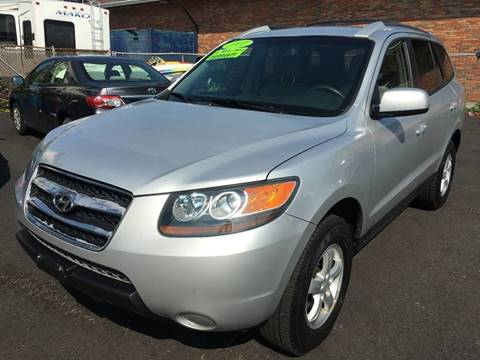 2007 Hyundai Santa Fe for sale at Dijie Auto Sale and Service Co. in Johnston RI