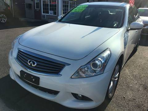 2011 Infiniti G25 Sedan for sale at Dijie Auto Sale and Service Co. in Johnston RI