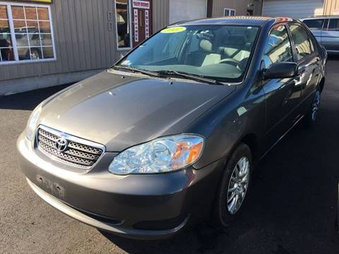 2007 Toyota Corolla for sale at Dijie Auto Sale and Service Co. in Johnston RI