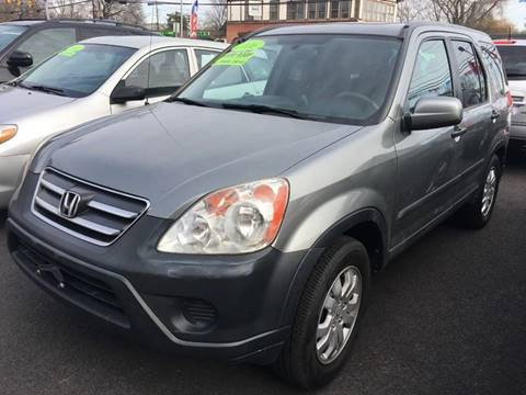 2006 Honda CR-V for sale at Dijie Auto Sale and Service Co. in Johnston RI
