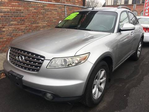 2004 Infiniti FX35 for sale at Dijie Auto Sale and Service Co. in Johnston RI