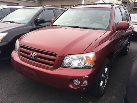 2007 Toyota Highlander for sale at Dijie Auto Sale and Service Co. in Johnston RI