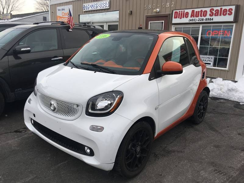 2016 Smart fortwo for sale at Dijie Auto Sale and Service Co. in Johnston RI