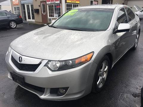 2010 Acura TSX for sale at Dijie Auto Sale and Service Co. in Johnston RI