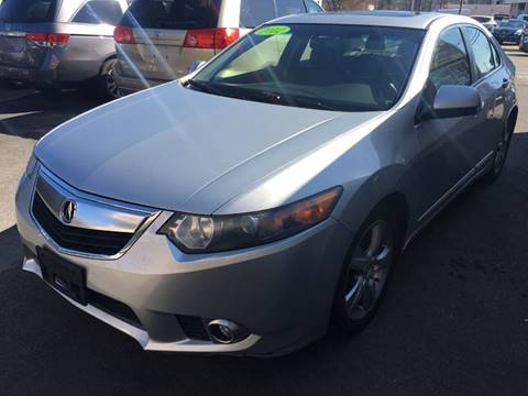 2012 Acura TSX for sale at Dijie Auto Sale and Service Co. in Johnston RI