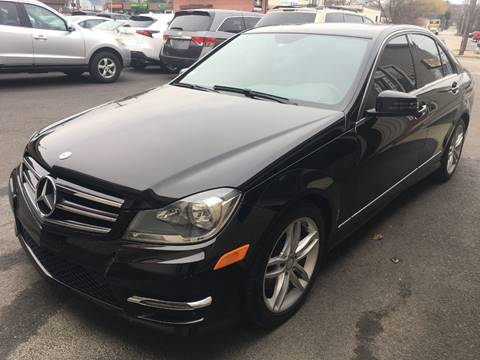 2014 Mercedes-Benz C-Class for sale at Dijie Auto Sale and Service Co. in Johnston RI