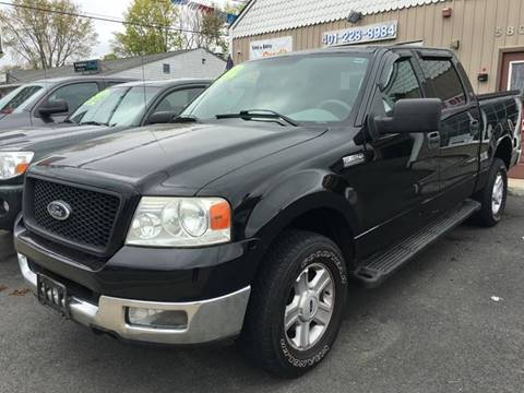 2004 Ford F-150 for sale at Dijie Auto Sale and Service Co. in Johnston RI