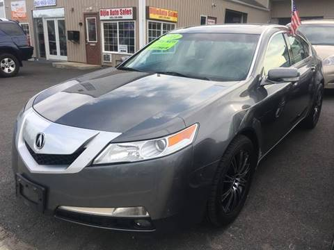 2011 Acura TL for sale at Dijie Auto Sale and Service Co. in Johnston RI