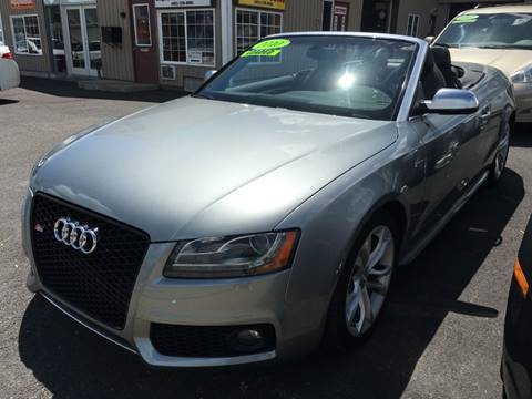 2010 Audi S5 for sale at Dijie Auto Sale and Service Co. in Johnston RI