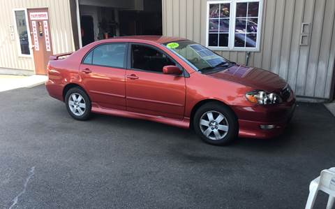 2006 Toyota Corolla for sale at Dijie Auto Sale and Service Co. in Johnston RI