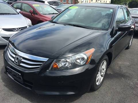 2012 Honda Accord for sale at Dijie Auto Sale and Service Co. in Johnston RI