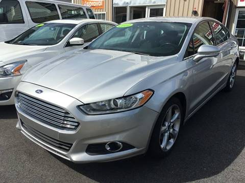 2014 Ford Fusion for sale in Johnston, RI