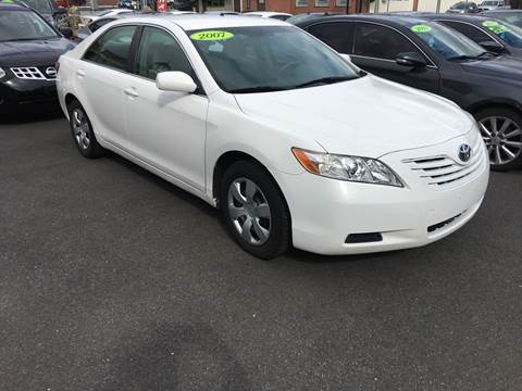 2007 Toyota Camry for sale at Dijie Auto Sale and Service Co. in Johnston RI