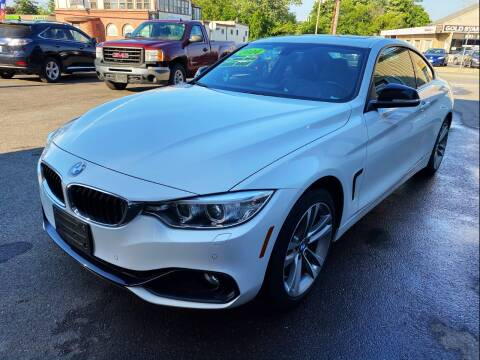 2014 BMW 4 Series for sale at Dijie Auto Sale and Service Co. in Johnston RI