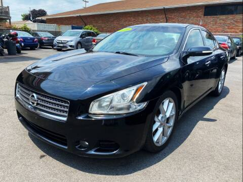 2009 Nissan Maxima for sale at Dijie Auto Sale and Service Co. in Johnston RI