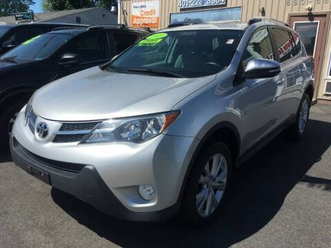 2013 Toyota RAV4 for sale at Dijie Auto Sale and Service Co. in Johnston RI