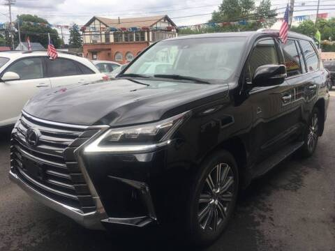 2016 Lexus LX 570 for sale at Dijie Auto Sale and Service Co. in Johnston RI