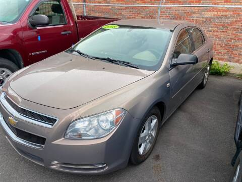 2008 Chevrolet Malibu for sale at Dijie Auto Sale and Service Co. in Johnston RI