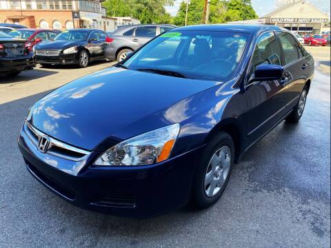 2006 Honda Accord for sale at Dijie Auto Sale and Service Co. in Johnston RI