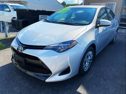 2019 Toyota Corolla for sale at Dijie Auto Sale and Service Co. in Johnston RI