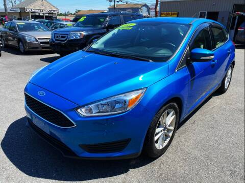 2016 Ford Focus for sale at Dijie Auto Sale and Service Co. in Johnston RI