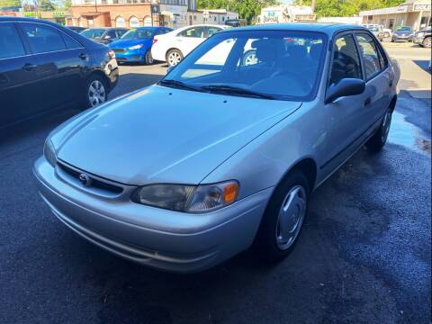2000 Toyota Corolla for sale at Dijie Auto Sale and Service Co. in Johnston RI