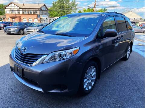 2012 Toyota Sienna for sale at Dijie Auto Sale and Service Co. in Johnston RI