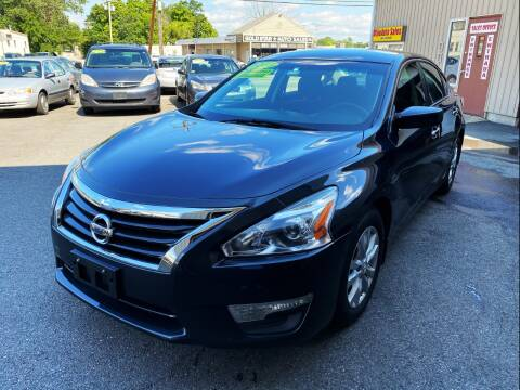 2015 Nissan Altima for sale at Dijie Auto Sale and Service Co. in Johnston RI