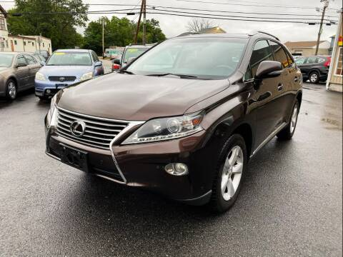 2013 Lexus RX 350 for sale at Dijie Auto Sale and Service Co. in Johnston RI