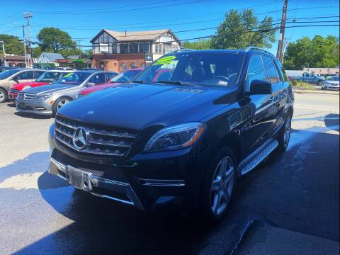 2015 Mercedes-Benz M-Class for sale at Dijie Auto Sale and Service Co. in Johnston RI