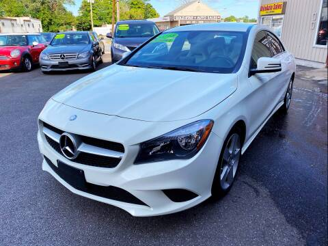 2015 Mercedes-Benz CLA for sale at Dijie Auto Sale and Service Co. in Johnston RI